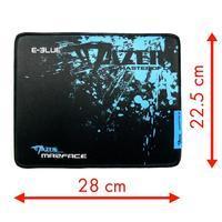 E-BLUE herní podložka Mazer Marface S, černo-modrá