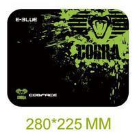E-Blue podložka pod myš, Cobra S, černo-zelená