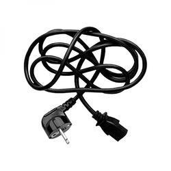 Síťový kabel 230V propojovací, CEE7 (vidlice)-C13, 1,8m