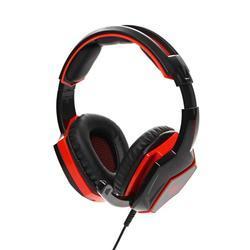 Herní sluchátka s mikrofonem RED FIGHTER H2 , černo-červená - 1