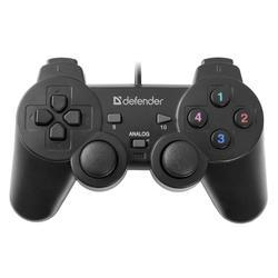 Gamepad Defender Omega, USB, černý (PC) - 1
