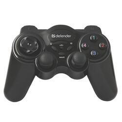 Gamepad Defender AAA, GAME MASTER WIRELESS, bezdrátový, černý - 1