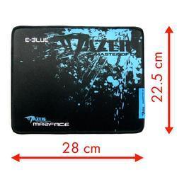E-BLUE herní podložka Mazer Marface S, černo-modrá - 1