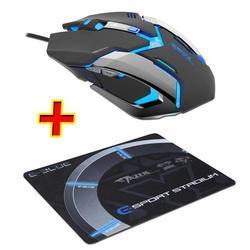 Herní Myš E-Blue Auroza Gaming  černá, PROMO, e-box - 1