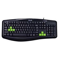 Herní klávesnice E-BLUE Elated, černá - 1