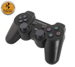 Bezdrátový Bluetooth Gamepad Esperanza Marine PS3,  černý - 1
