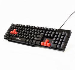 Herní klávesnice RED FIGHTER K1, černá, podsvícená - 1