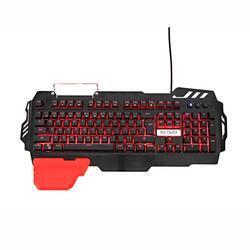 Herní klávesnice RED FIGHTER K2, černá, podsvícená - 1
