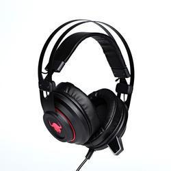 Herní sluchátka s mikrofonem RED FIGHTER H3 , černo-červená - 1