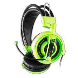 E-Blue, Cobra I, herní sluchátka s mikrofonem, zelená - 1