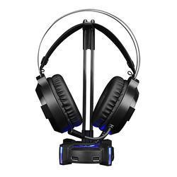 Podsvícený stojan na sluchátka Marvo HZ-04, černý - 1