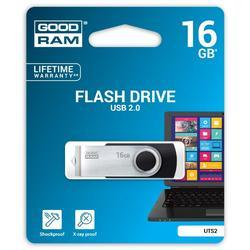 Goodram USB flash disk, 2.0, 16GB, UTS2, modrý