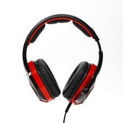 Herní sluchátka s mikrofonem RED FIGHTER H2 , černo-červená - 2