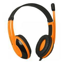 Herní sluchátka s mikrofonem Defender Warhead G-120, černo-oranžová - 2