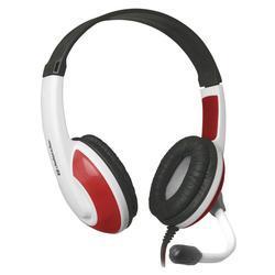 Herní sluchátka s mikrofonem Defender Warhead G-120, bílo-červená - 2