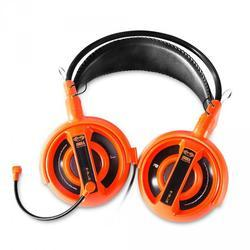 E-Blue, Cobra I, herní sluchátka s mikrofonem,oranžová - 2