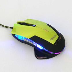 Herní myš E-Blue Mazer R, zelená - 2