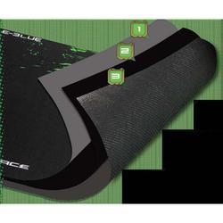 E-Blue podložka pod myš, Cobra S, černo-zelená - 2