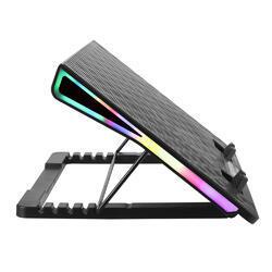 Stojan pod notebook Esperanza EGC101 ALIZE s RGB podsvícení - 2