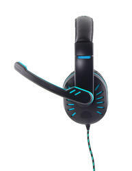 Esperanza Herní sluchátka s mikrofonem CROW, modrá - 2