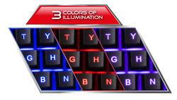 Esperanza Herní Sada klávesnice s herní myší SHELTER - 2