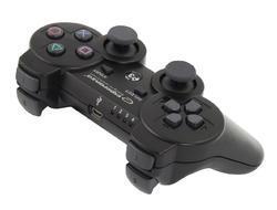 Bezdrátový Bluetooth Gamepad Esperanza Marine PS3,  černý - 2