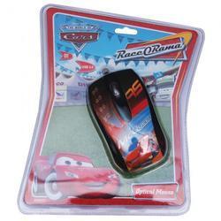 Myš DISNEY Auta optická, červená - 2