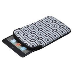 """Pouzdro pro tablet 10.1"""", Geometric, bílé z neoprénu - 2"""