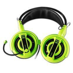 E-Blue, Cobra I, herní sluchátka s mikrofonem, zelená - 2
