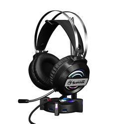 Podsvícený stojan na sluchátka Marvo HZ-04, černý - 2