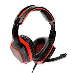 Herní sluchátka s mikrofonem RED FIGHTER H2 , černo-červená - 3
