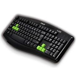 Herní klávesnice E-BLUE Elated, černá - 3