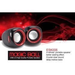 Reproduktory E-Blue Magic Ball, 2.0, červené - 3