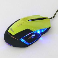 Herní myš E-Blue Mazer R, zelená - 3