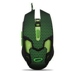 Herní optická myš COBRA MX207, zelená - 3