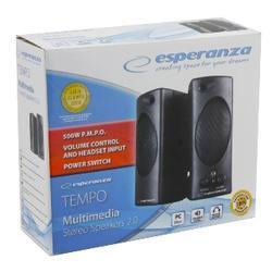Esperanza EP109 TEMPO reproduktory 2.0, černé - 3