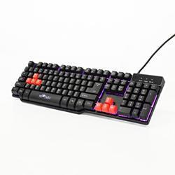 Herní klávesnice RED FIGHTER K1, černá, podsvícená - 3