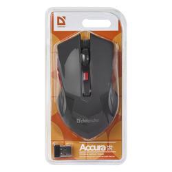 Defender Optická Bezdrátová Myš Accura MM-275, černá - 4