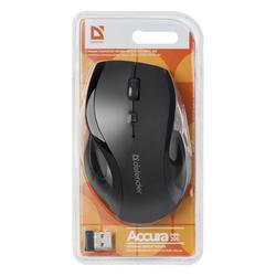 Defender Optická Bezdrátová Myš Accura MM-295, černá - 4