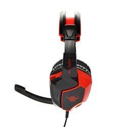 Herní sluchátka s mikrofonem RED FIGHTER H2 , černo-červená - 4