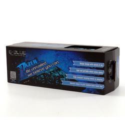 E-BLUE herní podložka Mazer Marface S, černo-modrá - 4