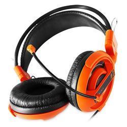 E-Blue, Cobra I, herní sluchátka s mikrofonem,oranžová - 4