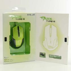 Herní myš E-Blue Mazer R, zelená - 4