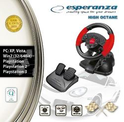 Esperanza EG103 volant s vibracemi pro PC/PS2/PS3 - 4