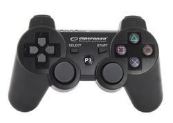 Bezdrátový Bluetooth Gamepad Esperanza Marine PS3,  černý - 4