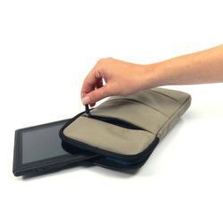 """Pouzdro pro tablet 8"""" Bubble, béžový z nylonu - 4"""