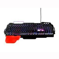 Herní klávesnice RED FIGHTER K2, černá, podsvícená - 4