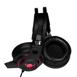 Herní sluchátka s mikrofonem RED FIGHTER H3 , černo-červená - 4