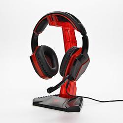 Red Fighter stojan na sluchátka červený - 4