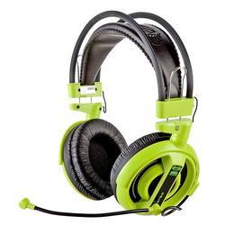 E-Blue, Cobra I, herní sluchátka s mikrofonem, zelená - 4